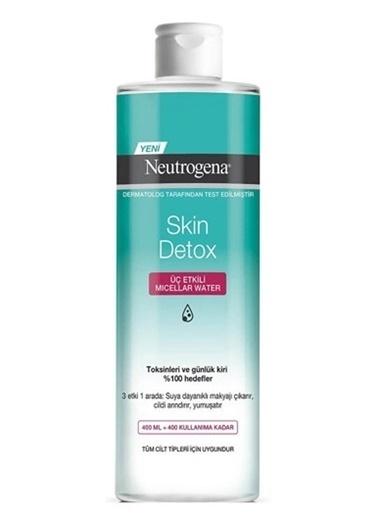 Neutrogena Neutrogena Skin Detox Üç Etkili Mıcellar Water Temizleme Suyu 400 Ml Renksiz